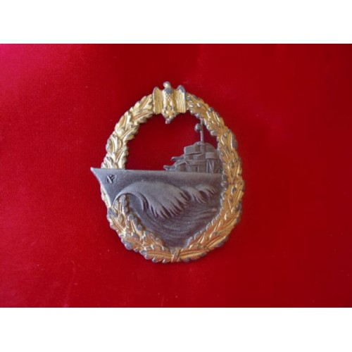 Destroyer War Badge # 1877