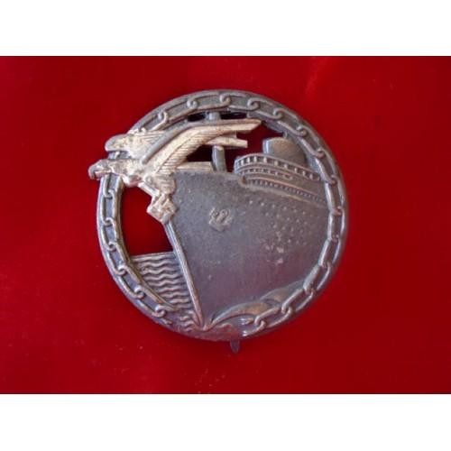 Blockade Runner's Badge # 1883
