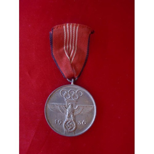 1936 Olympic Medal # 1894