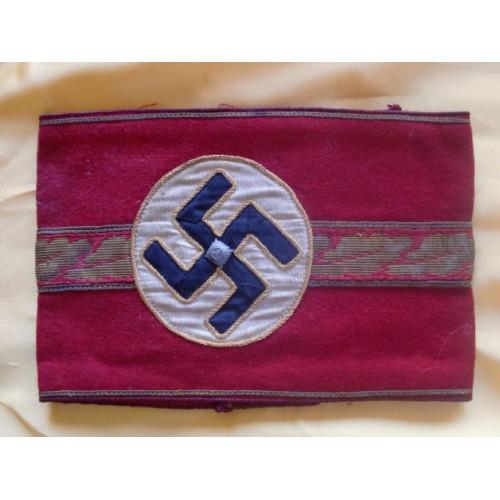 Deputy Gauleiter Armband # 1934