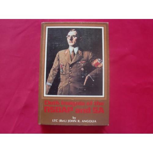 Cloth Insignia of the NSDAP and SA Book
