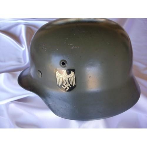 Heer M35 Helmet # 2056