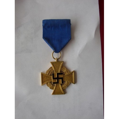 40 Year Service Cross # 2095