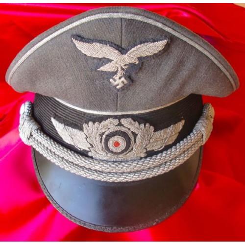 Luftwaffe Officer's Visor # 2119