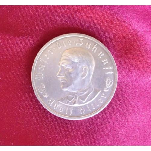 Hitler Medallion  # 2159
