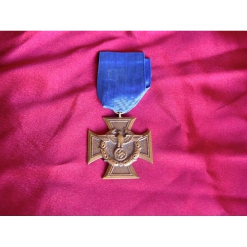 Water Customs Police Long Service Medal # 2165