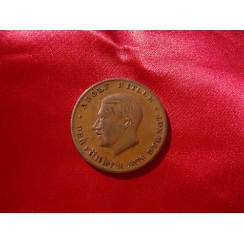 Adolf Hitler Medallion # 2175