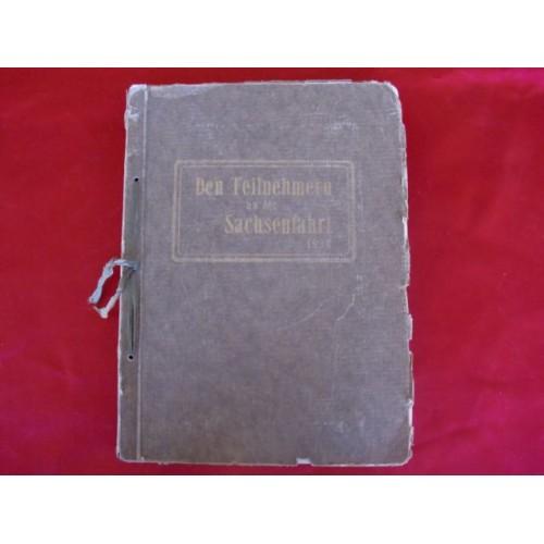 Den Teilnehmern an der Sachsenfahrt 1934 Album # 2184
