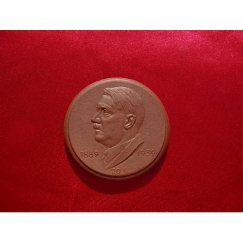 Hitler Medallion  # 2195