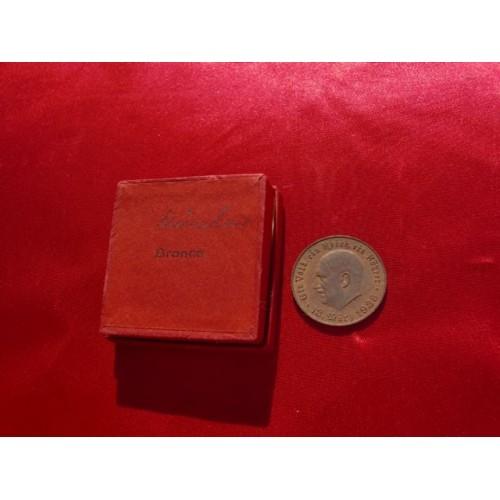 Hitler Medallion  # 2196