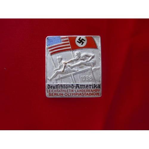 Deutschland-Amerika Olympic Pin # 2205