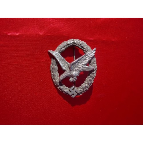 Luftwaffe Air Gunner/Flight Engineer Badge # 2207