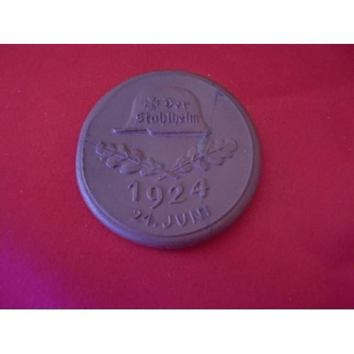 Der Stahlhelm 1924 Medallion # 2223