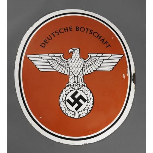 Deutsche Botschaft Sign # 2226