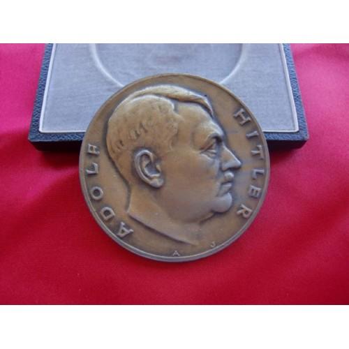 Hitler Sports Award Medallion # 2245