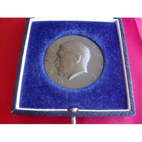 Adolf Hitler Medallion # 2247