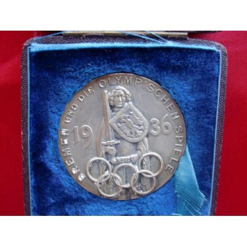 Olympic Medallion # 2249