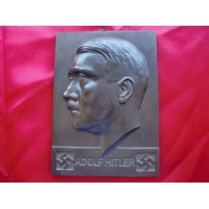 Adolf Hitler Plaque # 2254