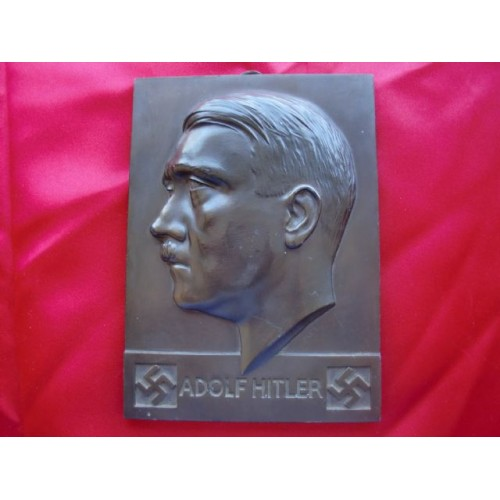 Adolf Hitler Plaque