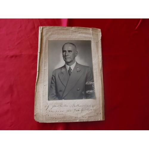 Wilhelm Frick Signed Portrait # 2315