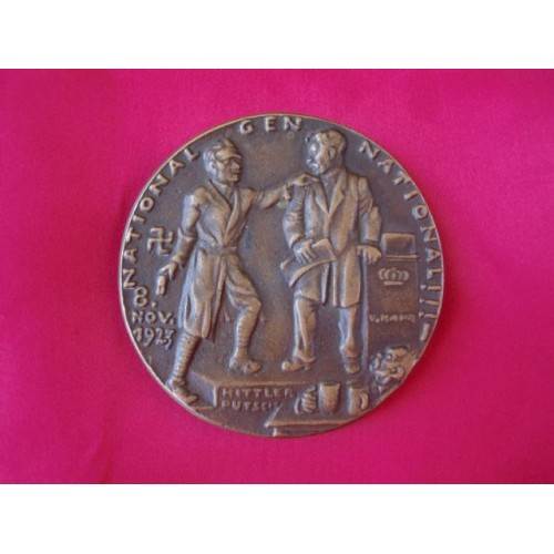 Hitler Putsch Medallion # 2321