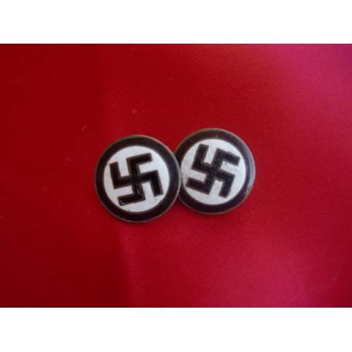 Swastika Cuff Links # 2346
