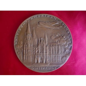Bombs on the Cathedral of Cologne Medallion # 2354