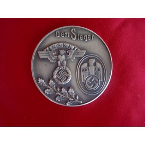 Dem Sieger Medallion # 2355