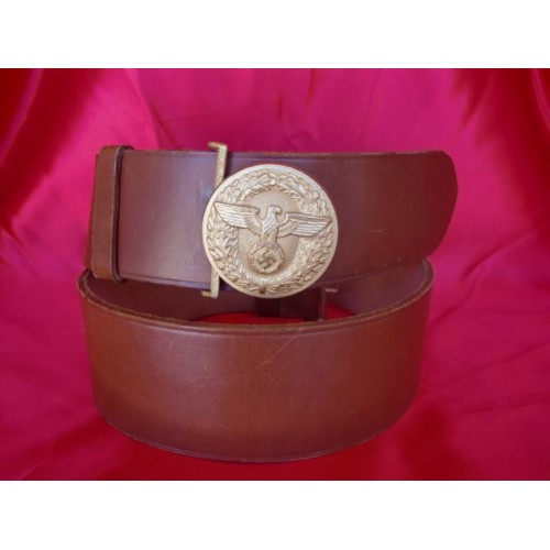 Political Leader's Belt and Buckle # 2392