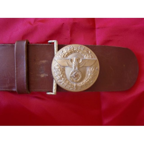 Political Leader's Belt and Buckle # 2472