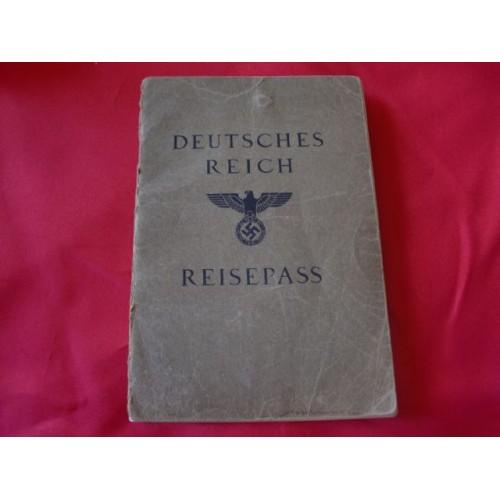 Deutsches Reich Reisepass # 2498