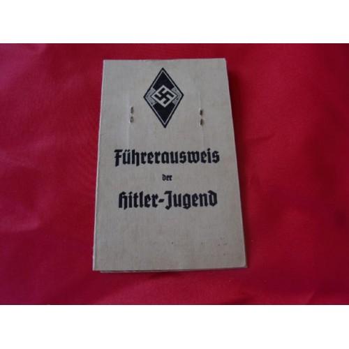 Führerausweis der Hitler-Jugend # 2503