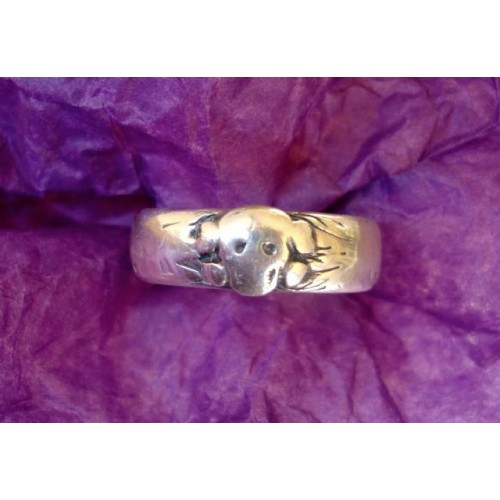 Totenkopf Ring  # 2516