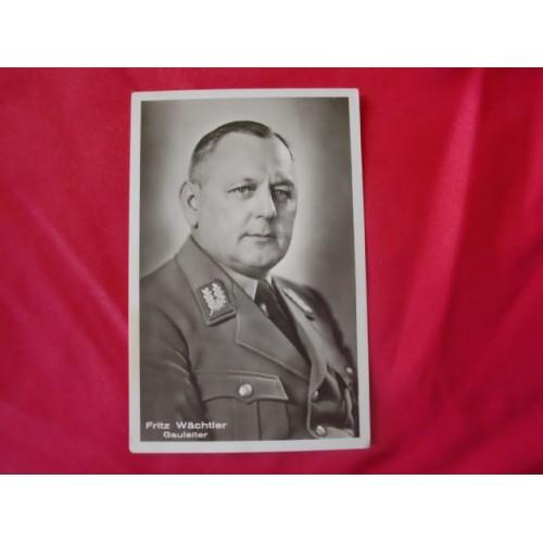 Fritz Wächtler Postcard # 2518