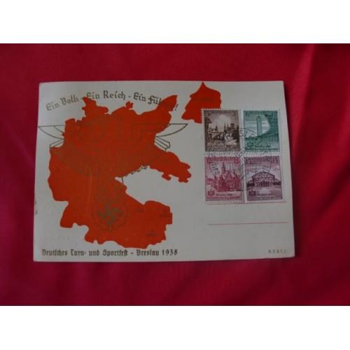 Breslau 1938 Postcard # 2519