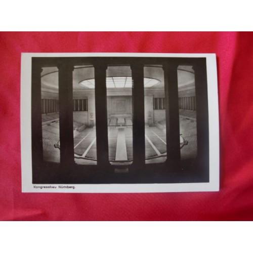 Kongressbau Nürnberg Postcard