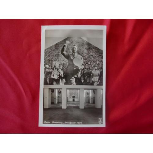 Berlin 1936 Hitler Postcard # 2523