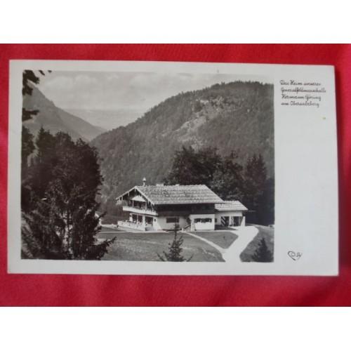 Göring House Obersalzberg Postcard # 2528