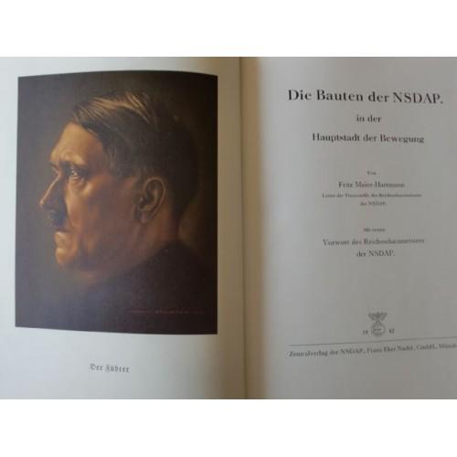 Die Bauten der NSDAP. in der Hauptstadt der Bewegung  # 2529