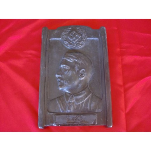 Adolf Hitler Plaque # 2536