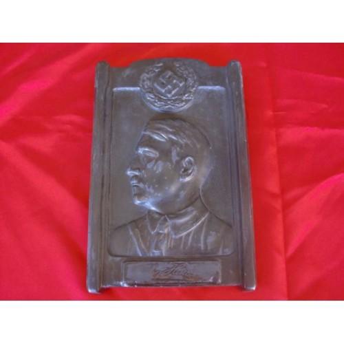 Adolf Hitler Plaque # 2536