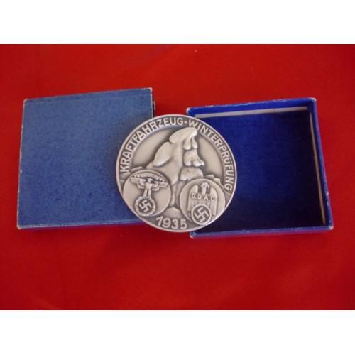 NSKK DDAC Medallion  # 2547