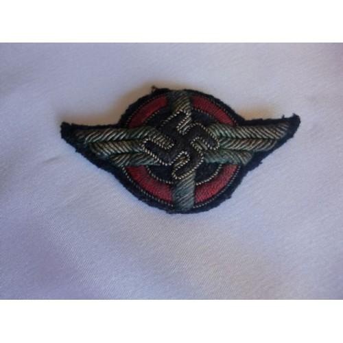 DLV Officers Visor Insignia # 2552
