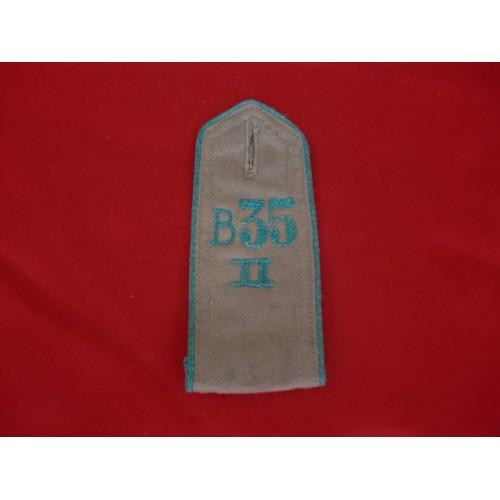 1933 HJ Shoulder Strap # 2566