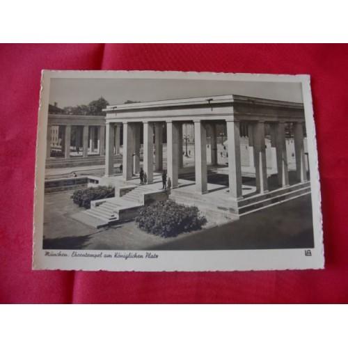 Munich NSDAP Martyr Temple  # 2616
