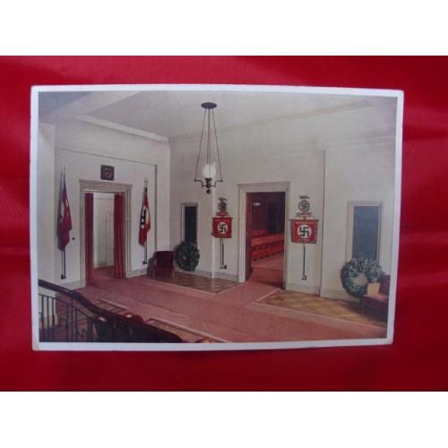 Braunes Haus nsdap braunes haus postcard