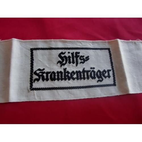 Auxiliary Stretcher Bearer's Armband # 2666