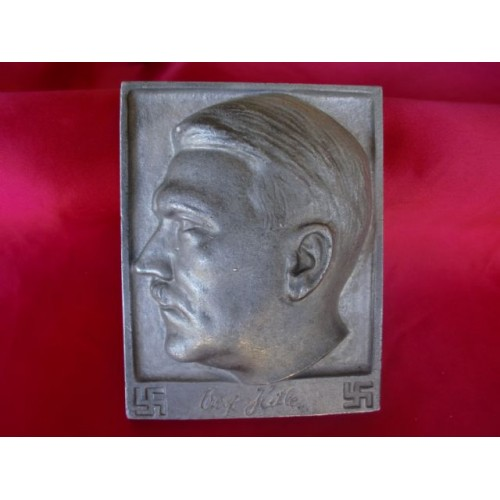 Adolf Hitler Plaque  # 2675