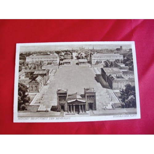 Munich NSDAP Martyr Temple Postcard # 2680