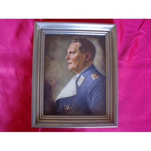 Rosenthal Hermann Göring Portrait  # 2696